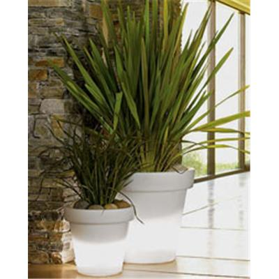BLOOM POT LUMINEUX blanc 40 cm